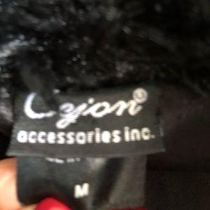 Cejon Jackets & Coats - Cejon Black Faux Fur Vest